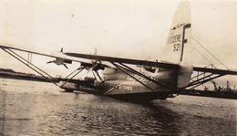 Photo Avion Aviation Hydravion Ligne Latecoere Lieutenant De Vaisseau Paris Le Havre - Aviation
