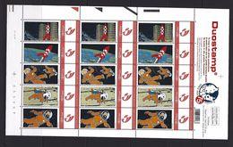 BELGIQUE - BELGIE Mijn Zegel DUOSTAMP  - Volledig Vel Met 3X Strook Van 5 Zegels KUIFJE - TINTIN  - Mannen Op De Maan - Belgique