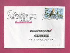Lettre De Saint Pierre Et Miquelon Pour La France De 2011 - YT N° 939 - Faune - Oiseau - Bruant Fauve - St.Pierre Et Miquelon