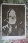 Russia. Actress Baranovskaya - Silent Movie Star -  Old Soviet Postcard 1929 - Acteurs