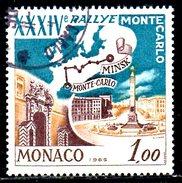 MONACO. N°662 Oblitéré De 1964. Rallye De Monaco. - Automovilismo