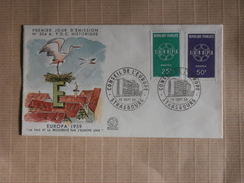FDC  19/09/1959  Europa - FDC