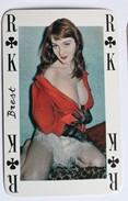 Carte à Jouer érotique Pin Up Brest Sourires De France Belotte Tierce - Playing Cards