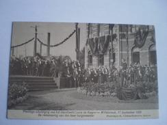 Willebroek // Willebroeck, Plechtige Inhuldiging Van Het Standbeeld Louis De Naeyer / Redevoering Burgemeester 1905 - Willebroek