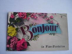 Fize Fontaine (Villers Le Bouillet // Un Bonjour De Fize Fontaine // Used 1932 - Villers-le-Bouillet