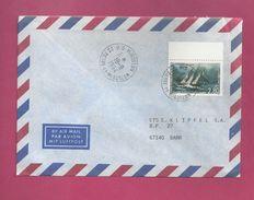 Lettre Pour La France De Saint Pierre Et Miquelon De 1994 - YT N° 598 - Bateau Hôpital - Oblitération De Miquelon - St.Pierre Et Miquelon
