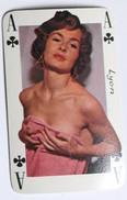 Carte à Jouer érotique Pin Up Lyon Sourires De France Belotte Tierce - Playing Cards