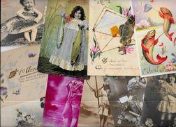 Lot 1006 De 10 CPA De Poisson D'Avril Déstockage Pour Revendeurs Ou Collectionneurs - Cartoline