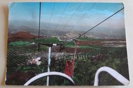 481 - Cartolina Palombara Sabina (Roma) Funivia Monte Gennaro Panorama Dall'alto - Italia