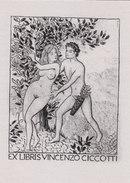 EX LIBRIS BOOKPLATE EROTICO N 14 - Ex Libris