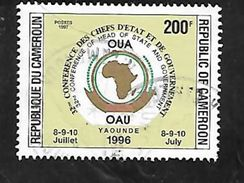 TIMBRE OBLITERE DU CAMEROUN DE 1996 N° MICHEL 1222 - Kamerun (1960-...)
