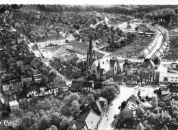ELVERSBERG (Saar) - Luftaufnahme - Kath. Kirche - Kreis Neunkirchen