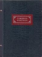 Voorraadboek - Timbres Postaux - Voorzien Van Index - Zie Scan - Sonstige Bücher