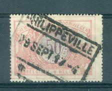 """BELGIE - TR 35 - Cachet   """"PHILIPPEVILLE"""" - (ref. 16.831) - Chemins De Fer"""