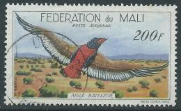 1960 MALI FEDERAZIONE POSTA AEREA USATO UCCELLI 200 F - R39-9 - Mali (1959-...)