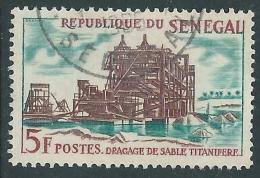 1964 SENEGAL USATO DREDGING - R39-9 - Senegal (1960-...)