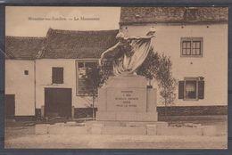 Moustier Sur Sambre - Le Monument  Carte + Ou -1930 - Imp.F.Delaire-Baseil  Moustier - NELS - Jemeppe-sur-Sambre