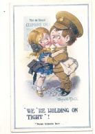 Humour  - Militaria -  Illustrateur Donald Mac Gili - We Re Holding On Tight - Unused TTB - Illustrators & Photographers