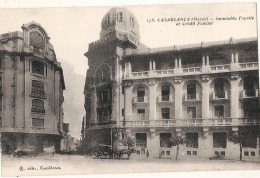 CASABLANCA  Immeuble Fayolle Et Crédit Foncier Neuve TTB - Casablanca