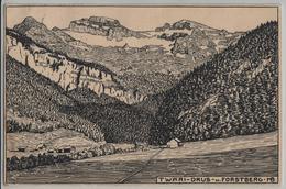 Twäri-Drus Und Forstberg - Künstlerkarte - SZ Schwyz