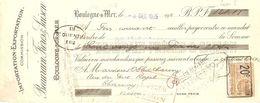 TRAITE 1925 BEAURAIN FRERES & SAISON BOULOGNE SUR MER - IMPORTATION EXPORTATION - Levensmiddelen