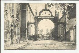 """18 . HENRICHEMONT . COMICE 1908 ."""" SOYEZ LES BIENVENUS """" - Henrichemont"""