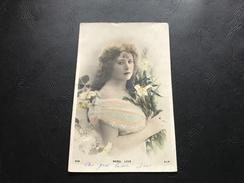 938 - MABEL LOVE (Femme élégante) 1904 - Silhouettes
