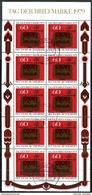 A00-30) BRD - 10x Michel 1023 Kleinbogen - OO 5000 Gestempelt (D) - 60+30Pf  Tag Der Briefmarke 79 - [7] Repubblica Federale