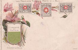 Canton De Vaud - Timbres (représentations)