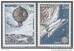 MONACO 1983 SERIE N°1365 ET 1366  NEUFS** - Unused Stamps