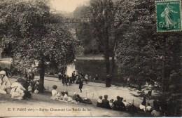 75 PARIS 19e  Buttes Chaumont  Les Bords Du Lac - Arrondissement: 19