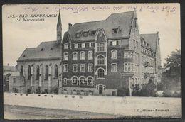 Carte Postale Ancienne De Kreuznach, L'Allemagne, VINTAGE POSTCARD OF KREUZNACH, GERMANY,  SI. MARIENWORTH - Bingen