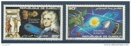 """Djibouti YT 616 & 617 """" Comète De Halley """" 1986 Neuf** - Djibouti (1977-...)"""