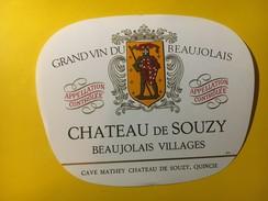 5776 - Château De Souzy Beaujolais Villages - Beaujolais