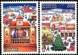 Belarus 2000 / Christmas-2000 MNH - Christmas