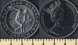 Gibraltar 1 Crown 1991 - Gibraltar