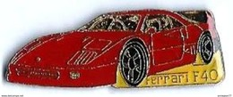F13 - FERRARI F40 - Verso : SM - Ferrari
