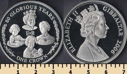 Gibraltar 1 Crown 2006 - Monnaies