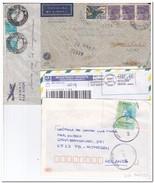 Brazilië, 8 Envelopes - Postwaardestukken