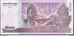 CAMBODIA P68 5000 RIELS DATED 2015  (issued 2017 ) UNC. - Cambodia