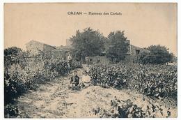 CPA - CAZAN (Bouches Du Rhône) - Hameau Des Carlats - France