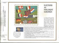 DOCUMENT SOIE FDC 1984 ELECTIONS AU PARLEMENT EUROPEEN - 1980-1989