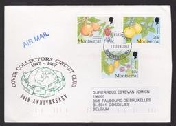 MONTSERRAT - Brief  Enveloppe  1997. SEE SCAN - Montserrat