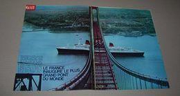 Article De Presse 1964 Sur Le Paquebot France à New York  Sur 6 Pages - Collections