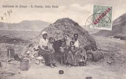 S. Vicente. - Habitantes Do Campo. - Cape Verde