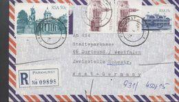 3200  Carta Aerea ,certificada Parkhurst  1987 - África Del Sur (1961-...)
