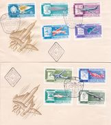 Hungary 1962 Aircrafts FDCs - FDC