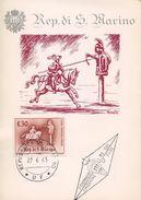 SAN MARINO  -  1973 MEDIEVAL TOURNAMENT    FDC766 - FDC