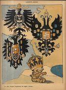 Revue L'assiette Au Beurre 1909 Turquie Turkey Bulgarie Guignol Carte Maps - 1900 - 1949