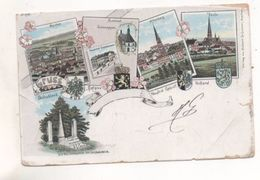 36947  -  Gruss  Aus  Belgien  Neutral Gebiet Holland  Vierlanderblick  - Moresnet   Altenberg - Vaals -  Aachen - La Calamine - Kelmis